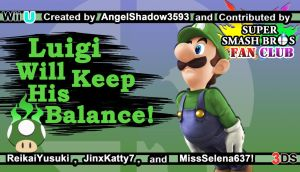 Luigi Challenger Approaching by AngelShadow3593