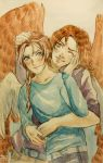 PTCOMM: Claude and Olivier by villainesayre