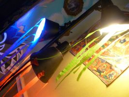Rainbow Lamps by Meow-Stock