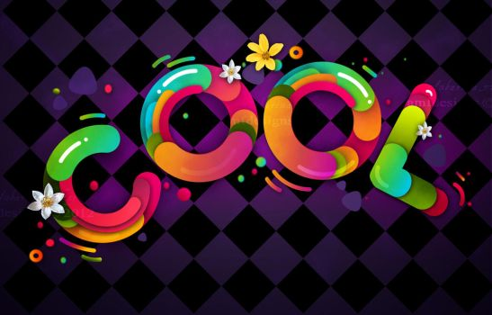 Cool - typography by AMFdesigns