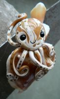 Fighting Conch Octopus Magnet by BlackMagdalena