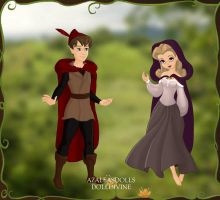 Prince Phillip and Briar Rose. by Katharine-Elizabeth