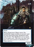 Snapcaster Mage by closetvictorian