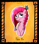 Pinkie and Butterfly by JunkieKB