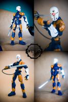 Custom Gray Fox action figureB by SomaKun