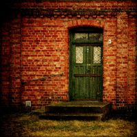 Green door by dajono