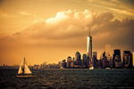 NYC in Sunset by TwiggyTeeluck