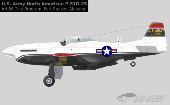 44-72990 US Army - A Mustang for the Cheyenne... by Bad-Rabbit-Design