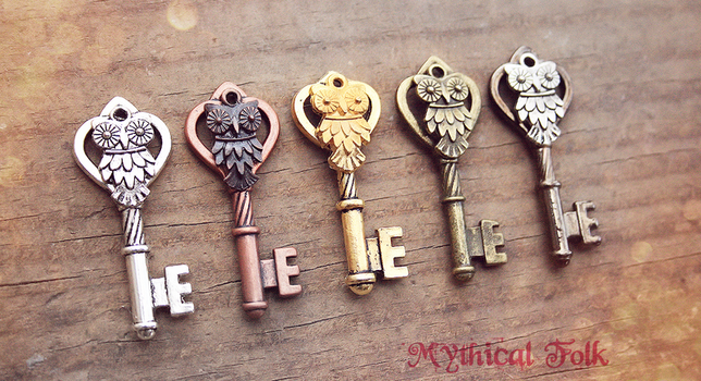 Owl Key Family by MythicalFolk