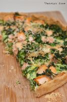 Salmon quiche by patchow