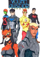Young Justice Invasion by ArtisticPow16