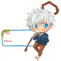 RotG: Jack Frost Christmas Tags by NightmareInspections