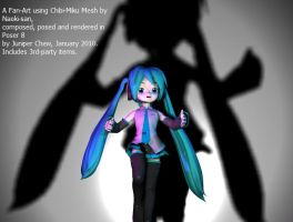 Miku 3D fan art 2 by ibr-remote
