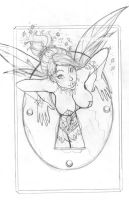 TINK STUCK IN KEYHOLE SK by nathanscomicart