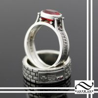 Mario Inspired Ring Set by mooredesign13