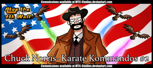 AT4W: Chuck Norris- Karate Kommandos #2 by MTC-Studio