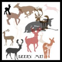 deery me brush set by bluebug