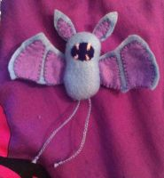 Pokemon: Zubat Plush by Jack-O-AllTrades