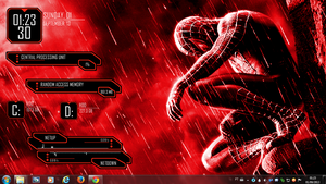 Spider Man Rogers1967 Rainmeter by Rogers1967
