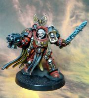 Brother Lorenzo for SPACE HULK by RAFFETIN