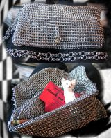 A most amazing chainmail purse by MADness323