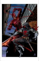 Daredevil Azrael FULL COLOR by Ace-Continuado
