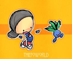 trainer thiefo wants to fight by Thiefoworld