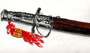 Chinese Dagger by philippeL