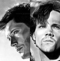 SPN: Two Hunters - Detail by Jeanne-Lui
