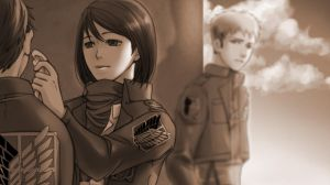 Mikasa, notice me. by Nanjung110