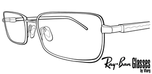 Ray-Ban Glasses by Vlarg