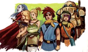 Chrono Trigger pchat warmup by JeffChangArt