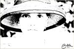 Girl with hat by brijome