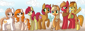 Apples and Oranges by lulubellct
