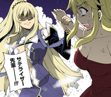 Cassandra and Satellizer by LunarInfinity