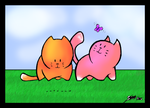 lllaria's Kittens by froggy2589