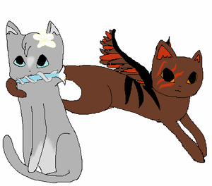 Dovepaw and Tigerheart