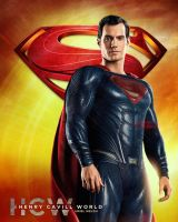 Superman For HCW by urielwelsh