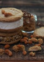Homemade Vanilla Ice Cream Sandwiches by theresahelmer