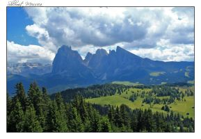 The Dolomites by ShlomitMessica