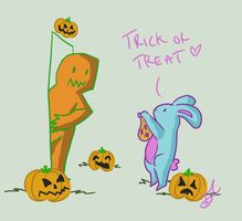 Trick or Treat by issabissabel