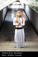 Orihime Inoue - The Prayer by recchinon