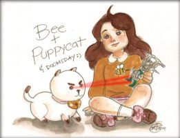 Bee and Puppycat and Doomsday by photon-nmo