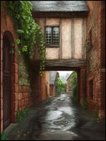 Narrow Street by FriendlyChestnut