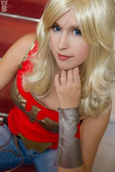 Wondergirl by white---butterfly