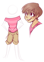Character Concept Doodle by strawberryneko33