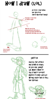 How I draw by s0s2