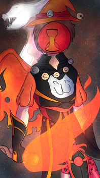 Solar Sands The Priest and Mage Of CowCat by Rainbowz4