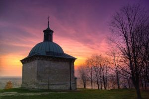 Sunset on the St. Anna's Hill by jeremi12