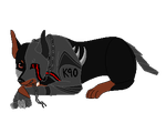 . : Never wake a killing machine : . CO by NeonSparkleButt